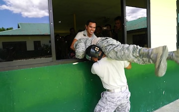Hawaii National Guard Search and Rescue Soldiers and Airmen join Armed Forces of the Philippines Counter Parts.