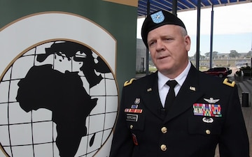 Interview with Brigadier General Scott Morcomb at African Land Forces Summit