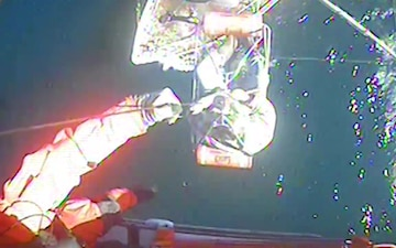 Coast Guard medevacs fisherman 50-miles off Atlantic City, N.J.
