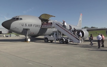 134th Air Refueling Wing hosts ESGR guests on training mission