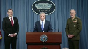 Mattis, Dunford Host News Conference on Defeating ISIS