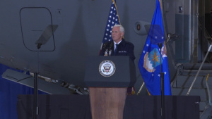 Vice President Mike Pence Visits Wright-Patterson AFB