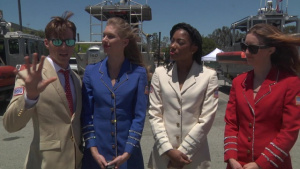 USO Show Troupe Interview at Torrance Armed Forces Day Celebration