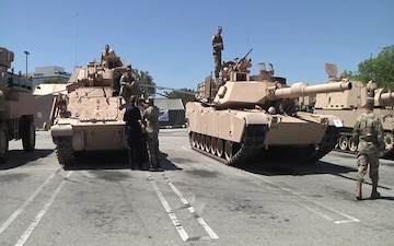 Torrance Armed Forces Day Parade Tanks