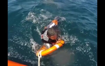 Even the best rescuers wear life jackets