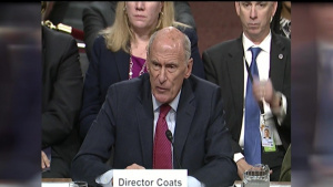 Intelligence Chiefs Testify at Senate Hearing