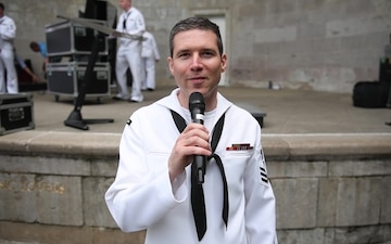Navy Band Northeast shout-out