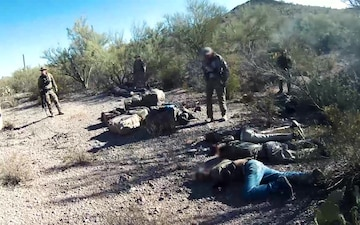 AMO and USBP Catch Smugglers