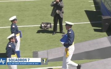 CJCS Gen Dunford at USAFA Graduation 2017