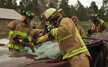 SDARNG Firefighters Conduct Annual Training - Without Titles