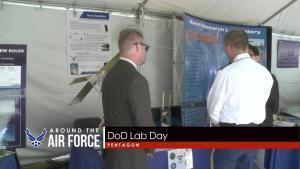 Around the Air Force: 2018 Budget / DoD Lab Day / Weather Platform
