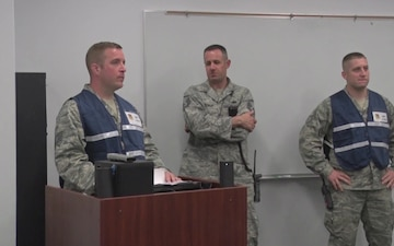 193rd SOW Active Shooter Exercise