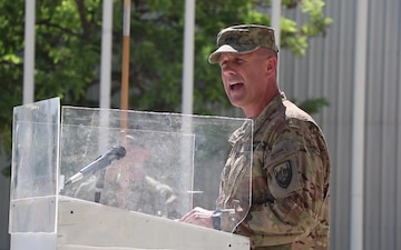 Memorial Day Ceremony at Bagram Airfield