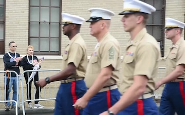 B-Roll footage from the annual Staten Island Memorial Day Parade