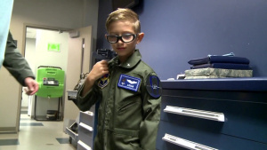 Aidan Flippo: Pilot for a Day