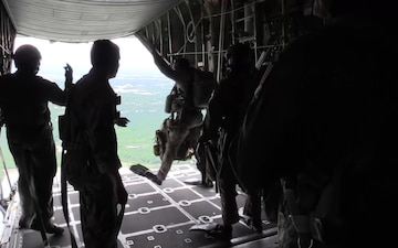 136th Airlift Wing's 181st Weather Flight Performs Air Drop Exercise Near NAS Fort Worth JRB, TX