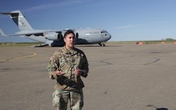 Alaska Guardsmen take rescue drug to Galena (Interviews)