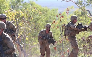 """Tropic Lightning"" Soldiers execute an annual, trilateral exercise in the Outback - clean"