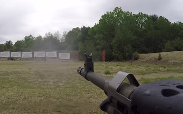 Army Reserve Drill Sergeants Reinforce Weapon Skills