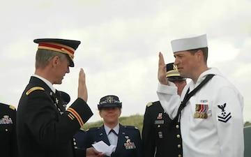 DDay73:  MM2 re-enlists on Utah Beach