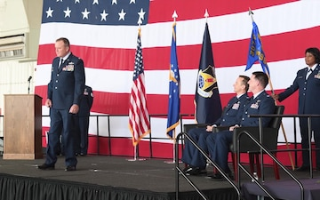 489th Bomb Group Change of Command