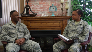 Interview with Chief Master Sgt. Calvin Williams