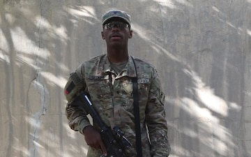 Spc. Monqwell Speight - Father's Day Shout Out