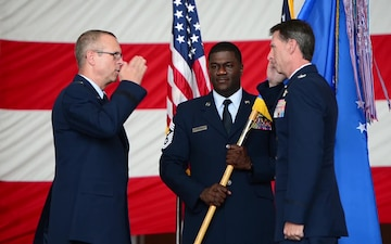 165th AW Change of Command