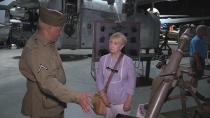 WWII Reenactors at the Museum of Aviation