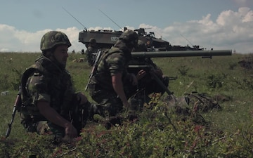 NOBLE JUMP 17 - NATO troops testing live fire capabilities