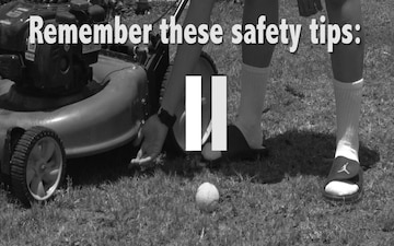 Summer Safety: Mowed Away