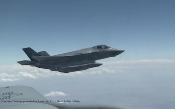 Luke AFB's F-35A Student Pilots Train at Mountain Home AFB