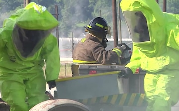 Canton Simulated Chlorine Gas Attack