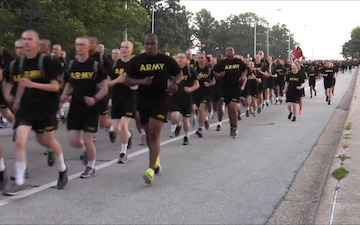 242nd Army Birthday Run at Fort Leonard Wood