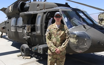 Chief Warrant Officer 2 Dave Bowles Father's Day Greeting from Afghanistan
