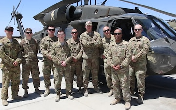 Task Force Flying Dragons Father's Day Greeting from Afghanistan