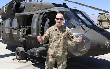 Capt. Austin Manini Independence Day Greeting from Afghanistan