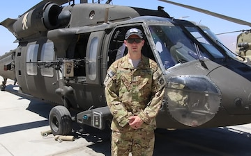Chief Warrant Officer 2 Dave Bowles Independence Day Greeting from Afghanistan