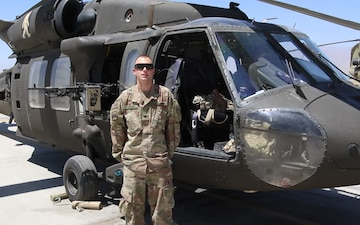 Spc. Dustin Keith Independence Day Greeting from Afghanistan