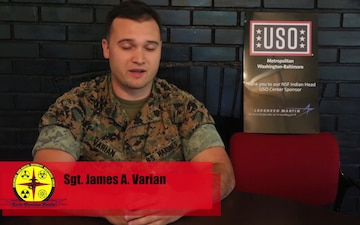 What the USO mean to YOU: Sgt. James Varian