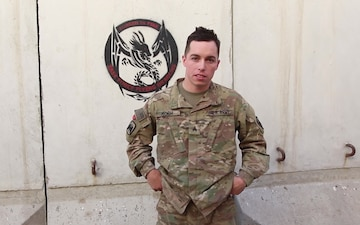 Sgt. Daniel Koch Independence Day Greeting from Afghanistan for the Texas Rangers