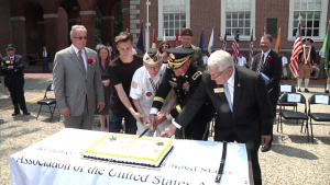 Army Reserve General Helps Celebrate Army's 242nd Birthday