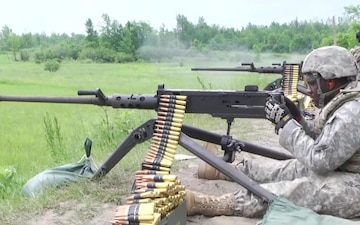 572nd BEB Trains at Fort Drum Ranges (B-roll)