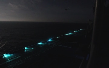 BHR night flight ops time lapse