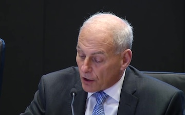 Sec. Kelly opening remarks