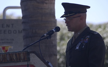 5th Marine Regiment Centennial Ceremony