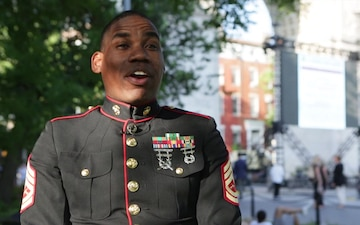 Marine Corps Band New Orleans in New York - Day TWO - NO Voiceover
