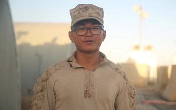 Lance Cpl. Medina Father's Day Shout-out