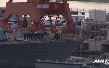 Pacific Update: USS Fitzgerald Returns to Yokosuka