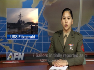 Pacific Update: Aucoin, Martinez on USS Fitzgerald